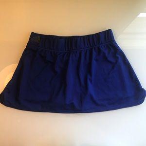 Adidas Climachill Royal Blue Mini Tennis Skirt